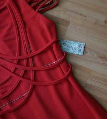 ஐ Svečana crvena haljina ஐ