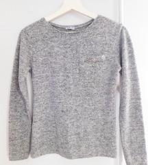 Siva Bluza Džemper
