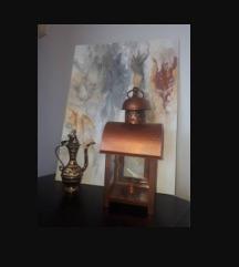 Komplet poklon set dekoracije slika svecnjak cup