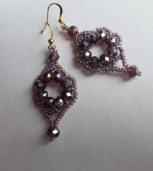 Purple crystal SNIZENJE