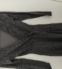 Crno siva haljina OVS