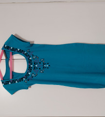 Pamučna haljina otvorenih leđa