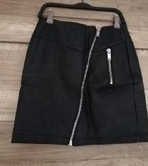 NOVA kozna suknjica