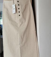 Zara suknja M novo