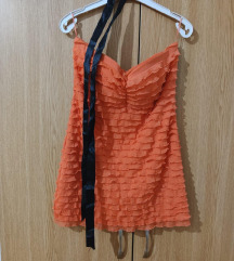 Tally Weijl top orange snizen!