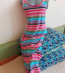 Šarena maxi haljina