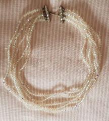 Vintage ogrlica, visestruka niska