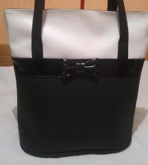Nova preslatka crno-bela torba