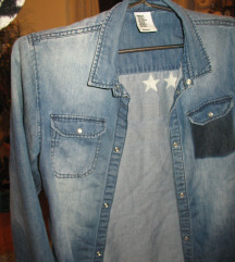 H&M jeans kosulja