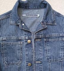 Jeans crop jaknica