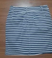 Suknja na pruge