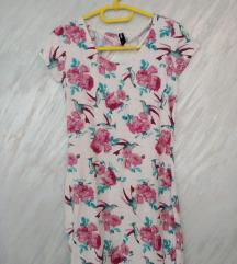 Cvetna uska haljina