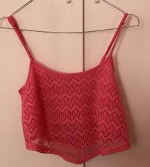 Roze kratka majica