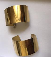 Par narukvica zlatne
