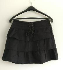 Zara suknjica crna