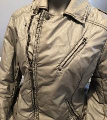 Zimska siva šljokicasta jakna ♥ AKCIJA