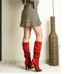 Nove crvene cizme do kolena
