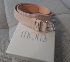 Mona baby roze kaiš