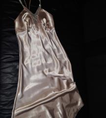 Saten slip haljina