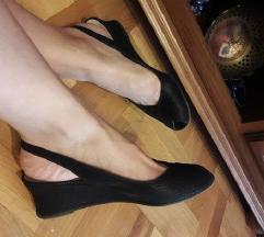 BRUNO MAGLI kozne ravne crne sandale