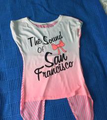 Roze majica