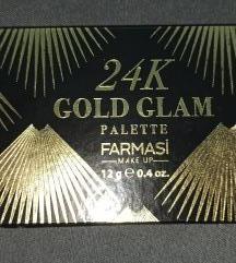 Paleta senki 24K GOLD
