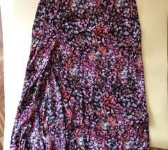 HM suknja cvetna