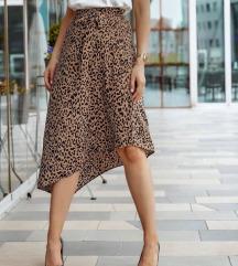 SNIZENJEEE Suknja leopard print