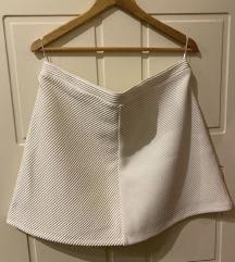 Bela suknja nova