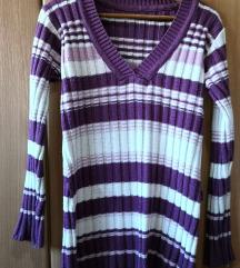 Ljubičasti džemper