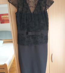Svecana crna haljinica