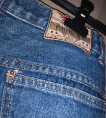 Retro teksas suknja