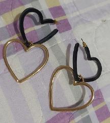 Crno-zlatne srce mindjuse