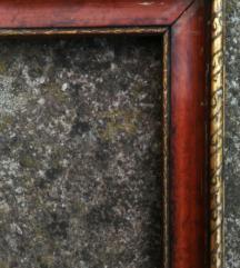 Starinski drveni okvir 41 x 34 cm