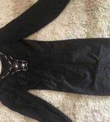 Elegantna crna haljina kupljena u Londonu