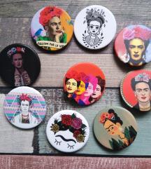 Frida bedževi