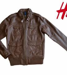 H&M kožna jakna vel M kao NOVO