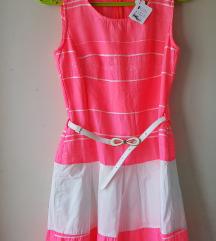Balon haljina sa kaišem NOVO