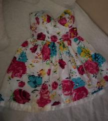 Cvetna top haljina