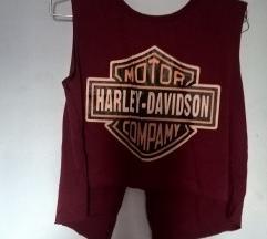 Harley Davidson crop top