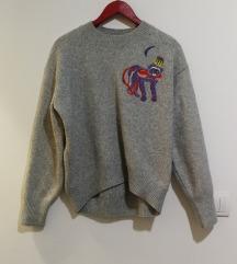 Sivi H&M džemper