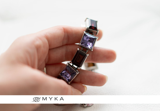MYKA Square/Rectangle narukvica