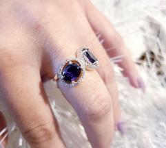 Srebrni prsten Novo SNIZENO 19mm.