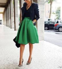Nova zelena suknja