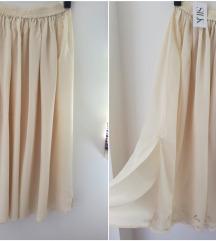 Nova bez suknja od ciste svile sa vezom