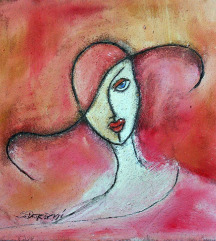 `Dama` - 35 x 35cm.