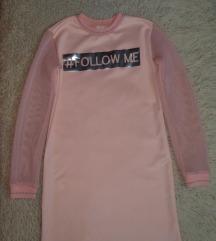C&A roze haljina