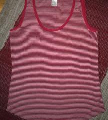 Majica crvena na prugice KAO NOVA!