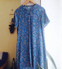 Old Navy plava haljina, 100% viskoza