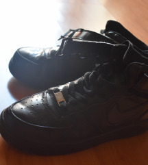 Nike Air Force duboke, crne patike